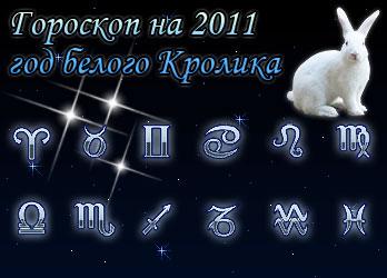 2011 год - год белого металлического Кролика