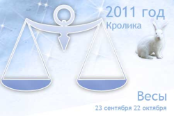 Гороскоп на 2011 год для Весов