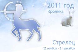 Гороскоп на 2011 год для Стрельца