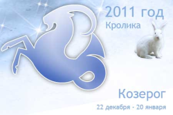 Гороскоп на 2011 год для Козерога